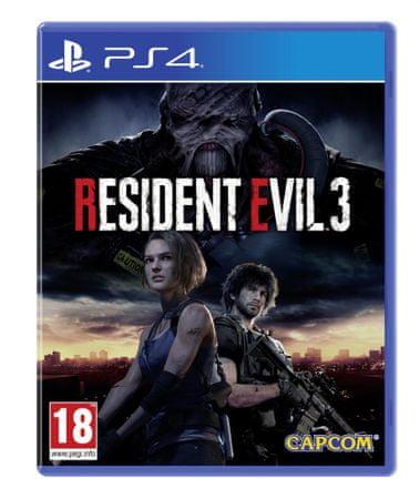 Capcom Resident Evil 3: Remake igra (PS4)