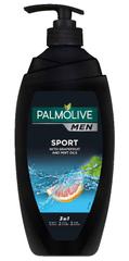 Palmolive Men Sport gel za prhanje 3 v 1, s pumpico, 750 ml