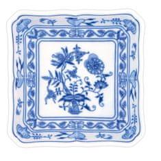 ČESKÝ PORCELÁN Mísa salátová čtyřhranná 21 cm, dekor cibulák