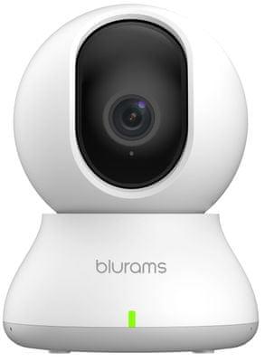 Bezpečnostní IP kamera Blurams Dome Lite 2, Full HD, širokoúhlá, rotace, vzdálené ovládání, polohovatelná, zoom, detekce obličeje, detekce pohybu, detekce zvuku, noční vidění, mikrofon, reproduktor, cloud