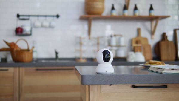 Rotační IP kamera Blurams Dome Lite 2, rotace otáčení inteligentní sledování a rozpoznání pohybu