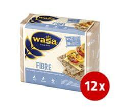 Barilla Wasa Fibres rženi kruhki, 12 x 230 g