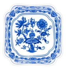 ČESKÝ PORCELÁN Mísa salátová vysoká čtyřhranná 24 cm, dekor cibulák
