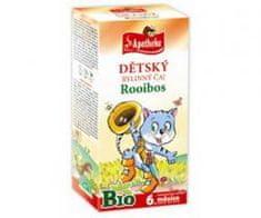 Apotheke čaj dětský rooibos Bio n.s. 20 x 1,5 g