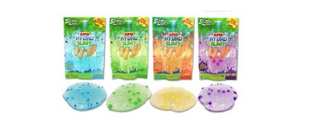 Slimy Hydro sluz, z bleščicami in perlicami, 170g, 4 barve