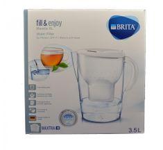 Brita Marella XL Memo kotliček za filtriranje vode, bel, 3,5l