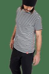 Revenium Modrobílé proužkované pánské tričko LIGHTHOUSE