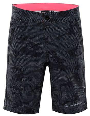 ALPINE PRO Trento 2 dječje softshell hlače, 92 - 98, sive