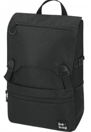 Herlitz šolski nahrbtnik Be.Bag, črn