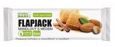 Natural Bars Flapjack mandlový s medem 40g Bio