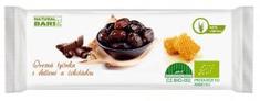 Natural Bars Ovesná tyčinka s datlemi a čokoládou 40g Bio