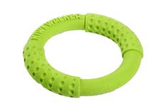 KIWI WALKER Hádzací a plávací kruh z TPR peny, zelená, 18 cm