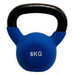 Fitmotiv Kettlebell uteg, neopren, 6 kg