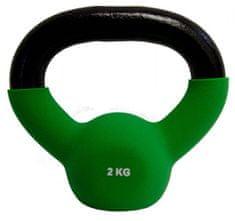 Fitmotiv Kettlebell utež, neopren, 2 kg