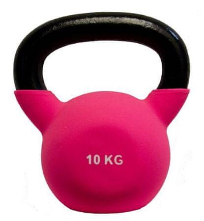 Fitmotiv Kettlebell uteg, neopren, 10 kg