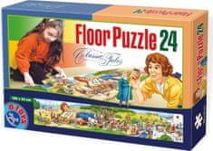 D-Toys Panoramatické puzzle Gulliverovy cesty MAXI 24 dílků
