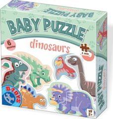 D-Toys Baby puzzle Dinosauři 6v1 (2-6 dílků)