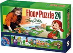 D-Toys Panoramatické puzzle Sněhurka MAXI 24 dílků