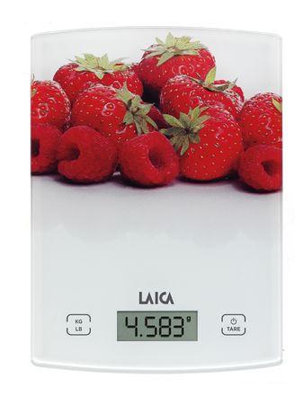 Laica KS1029W, digitalna kuhinja vaga, crveno voće