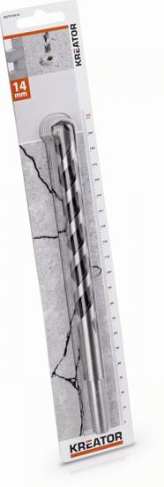 Kreator KRT010416 - Vrták do betonu 14x200 mm