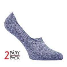 Zdravé Ponožky Letní neviditelné mikrovláknové unisex ponožky STEPS 2Pack.