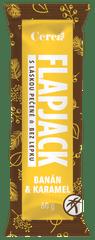 Cereabar Flapjack banán a karamel bez lepku 60g