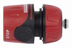"Kreator KRTGR6002 - Rychlospojka na hadice 1/2"" STOP ventil"