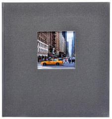 Goldbuch Fotoalbum Bella Vista šedé černé listy