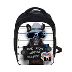 TopBags Chlapecký dětský batoh COOLAST Wanted Dog 11 l