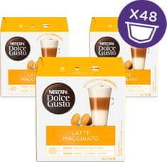 NESCAFÉ kawa w kapsułkach Dolce Gusto® Latte Macchiato trójpak