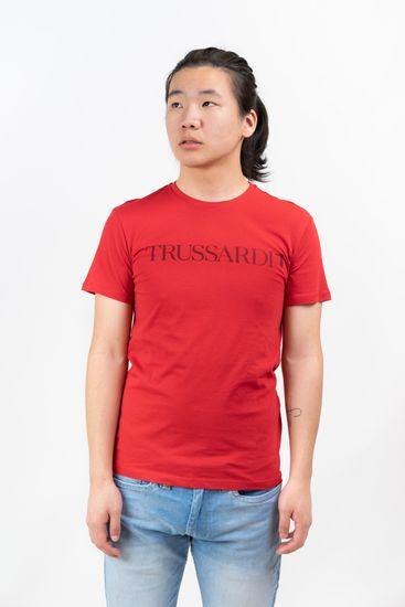 Trussardi Jeans pánske tričko 52T00305-1T003613 XXL červená