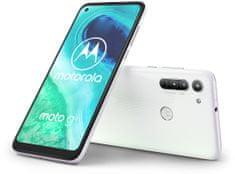 MOTOROLA smartfon G8, 4GB/64GB, Pearl White