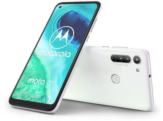 Motorola G8, 4GB/64GB, Pearl White