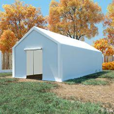 Namiot magazynowy, PE, 4 x 8 m, biały