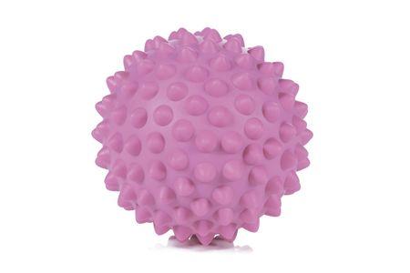 Gymstick masažna žoga z bodicami Emotion, 9,5 cm, roza