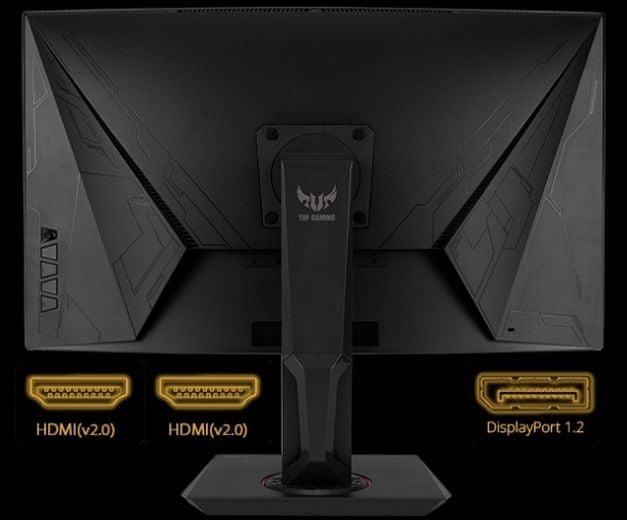 monitor gamingowy Asus TUF Gaming VG27AQ (90LM0500-B01370) HDMI Display Port 3,5mm jack