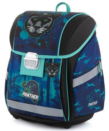 Karton P+P Premium Light Panter anatomska školska torba