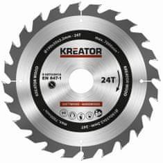 Kreator KRT020416 - Pílový kotúč na drevo 190mm, 24T