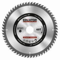 Kreator KRT020424 - Pilový kotouč na dřevo 216mm, 60T