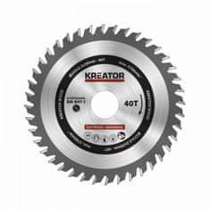 Kreator KRT020436 - Pílový kotúč na drevo 235mm 40T