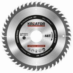 Kreator KRT020413 - Pílový kotúč na drevo 170mm, 48T