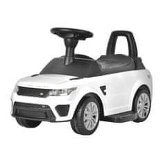 BAYO Elektrické autíčko-odrážadlo 2v1 BAYO Range Rover Sport SVR white Biela
