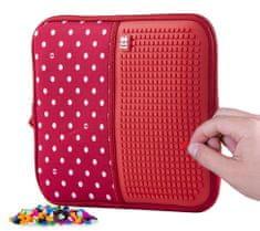 Pixie Crew kreativna torbica za pohranu, XL, crvena boja s bijelim točkama