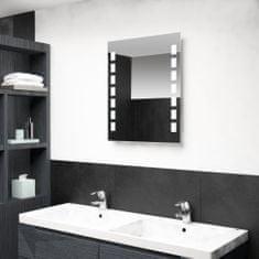 shumee Koupelnové nástěnné zrcadlo s LED osvětlením 50 x 60 cm