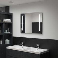 shumee Koupelnové nástěnné zrcadlo s LED osvětlením 80 x 60 cm