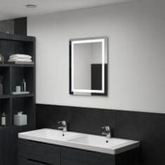 shumee Koupelnové zrcadlo s LED světly a dotykovým senzorem 50 x 60 cm