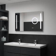 shumee Koupelnové zrcadlo s LED světly a dotykovým senzorem 100x60 cm