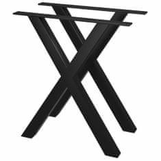 shumee Nohy k jídelnímu stolu ve tvaru X 2 ks 60 x 72 cm