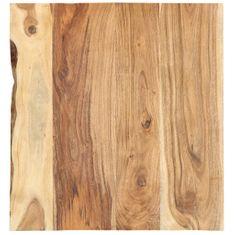 shumee Stolní deska masivní akáciové dřevo 60x60x2,5 cm
