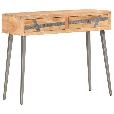 shumee tömör akácfa tálalóasztal 90 x 30 x 75 cm